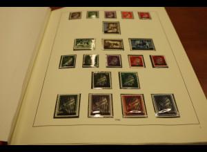 Österreich 1945-1975 gute postfrische Slg. mit Hitler-Aufdruckwerten, Vögeln ect