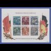 DDR 1955, Blockausgabe Friedrich Engels, Block 13 mit LT-Tages-O BERLIN W8 gepr.