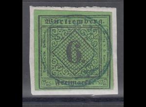 Altdeutschland Württemberg Mi.-Nr. 3 gestempelt