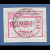 Südwestafrika FRAMA-ATM Nr.1 mit Aut.-Nr. PT-03 aus OA mit Orts-ET-O SWAKOPMUND