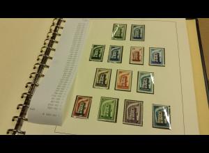 Europa-Cept große Sammlung 1956-1996 ** in 6 SAFE-Alben. Im Karton.