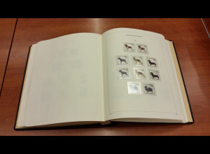KABE-Bi-Collect Vordrucke Bundesrepublik 1989-1996 fast kpl. bestückt mit Marken