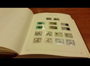 KABE-Bi-Collect Vordrucke Bundesrepublik 1984-1995 fast kpl. bestückt mit Marken