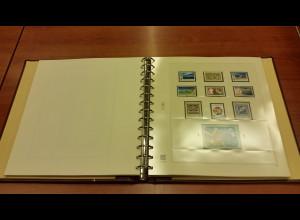 UNO Wien 1980-1996 Sammlung kpl. ** mit vielen Kleinbogen.