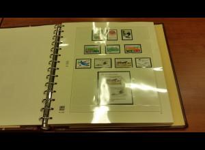 UNO Genf 1980-1996 Sammlung kpl. ** mit vielen Kleinbogen.