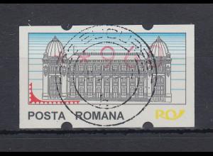 Rumänien ATM 960 mit zentrischem Vollstempel BUCURESTI