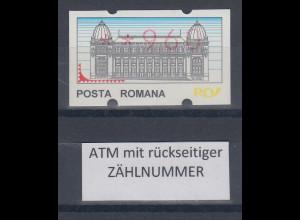 Rumänien ATM 960 postfrisch ** mit rückseitiger Zählnummer