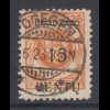 Memelgebiet Mi.-Nr. 170 Aufdrucktype A III gestempelt POGEGEN