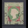 Altdeutschland Helgoland 1/2 Schilling Mi.-Nr. 6a gestempelt gepr. Georg Bühler