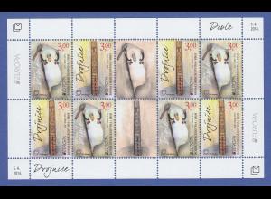 Bosnien (kroatische Post) 2014 Kleinbogen Mi.-Nr. 385-86 EUROPA Musikinstrumente