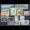Frankreich Mayotte 1997-2001 Lot 22 Werte postfrisch ** , teils mehrfach