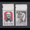 VR China 1960 Arzt Norman Bethune Mi.-Nr. 566-567 ** China C84 Set MNH