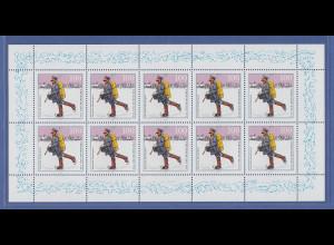 Zehnerbogen ** 1994 Mi.-Nr. 1764 Tag der Briefmarke