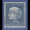 Bundesrepublik Wohlfahrt 1954 Bertha Pappenheim Mi.-Nr. 203 O gepr. Schlegel