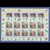 Zehnerbogen-Satz ** 1997 Mi.-Nr.1959-60 Weihnachten