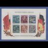 DDR 1955, Blockausgabe Friedrich Engels, Mi.-Nr. Block 13 postfrisch **