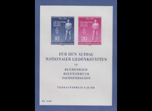 DDR 1955, Blockausgabe Tag der Befreiung, Mi.-Nr. Block 11 postfrisch **