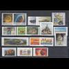 Bundesrepublik alle selbstklebenden Briefmarken des Jahrgangs 2016 komplett **
