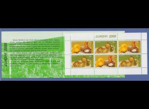 Moldavien 2005 EUROPA Gastronomie Mi.-Nr. 511-12 Markenheftchen MH 9 postfrisch