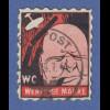 """Deutsches Reich Propaganda-Fälschung WC (Winston Churchill) """"WERTLOSE MARKE"""""""