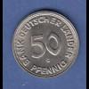 Seltene Wertvolle Kursmünze 50 Pfg Bank Deutscher Länder 1950 G In