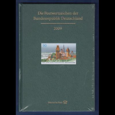 Briefmarken JAHRBUCH Bundesrepublik Deutschland 2009 kpl. bestückt OVP