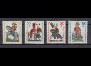 Bundesrepublik 1970 Jugend Minnesänger Mi.-Nr. 612-615 **