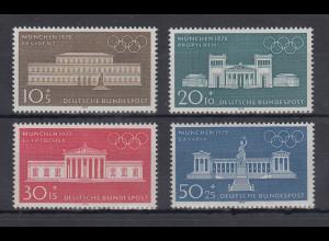 Bundesrepublik 1970 Olympia 1972 Münchner Bauwerke Mi.-Nr. 624-627 **