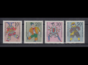 Bundesrepublik 1970 Wohlfahrt Marionetten Mi.-Nr. 650-653 **