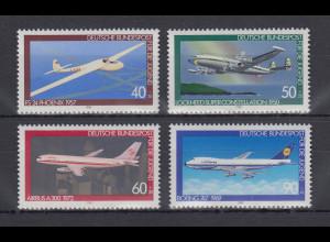 Bundesrepublik 1980 Jugend Luftfahrt Mi.-Nr. 1040-1043 **