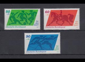 Bundesrepublik 1980 Sporthilfe Mi.-Nr. 1046-1048 **