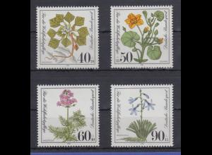 Bundesrepublik 1981 Wohlfahrt Gefährdete Pflanzen Mi.-Nr. 1108-1111 **