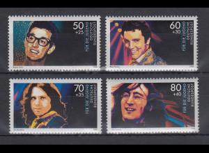 Bundesrepublik 1988 Jugend Idole der Rock- und Popmusik Mi.-Nr. 1360-1363 **