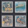 Bundesrepublik 1992 Sporthilfe Olympische Winterspiele Mi.-Nr. 1592-1595 **