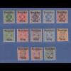 Deutsches Reich 1920 Dienstmarken Württemberg Mi-Nr. 52-64 kpl Satz 13 Werte **