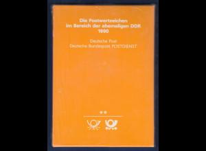 Briefmarken JAHRBUCH DDR 1990 kpl. inkl. Schuber originalverschweißt OVP