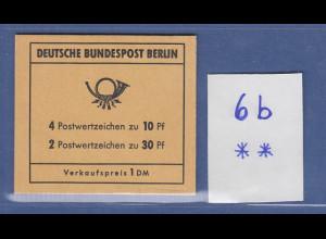 Berlin Brandenburger Tor Markenheftchen MH 6b postfrisch **