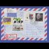 Bund 1992 Luftpost-R-Brief mit Sondermarken von Neuendetelsau -> SWA / Namibia