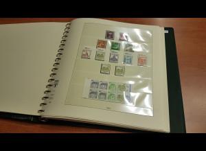 Berlin Sammlung 1978-1990 kpl. ** inkl C/D-Werte und ATM im Lindner-Vordruck