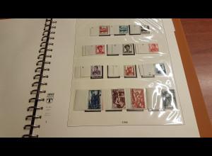 Saarland 1947-59 (ohne Blocks) kpl. inkl. Dienstmarken saubere Sammlung **