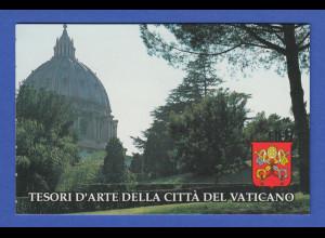 Vatikan Markenheftchen 1993 Mi.-Nr. MH 4 ** Baudenkmäler