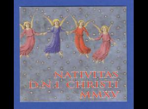 Vatikan Markenheftchen 2015 Mi.-Nr. MH 24 ** Weihnachten