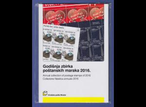 Bosnien kroatische Post Mostar Briefmarken-Jahrbuch 2016 kpl. bestückt **