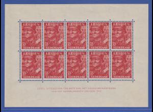 Niederlande Blockausgabe 1942 Mi.-Nr. Block 1 ** Niederländische Legion