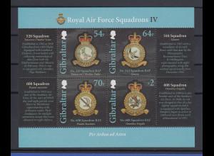 Gibraltar 2016 Mi.-Nr. Block 122 Orden der Royal Air Force
