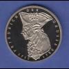 Bundesrepublik 5DM Gedenkmünze 1986 Friedrich der Große PP