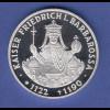 Bundesrepublik 10DM Silber-Gedenkmünze 1990 Kaiser Friedrich I. Barbarossa PP