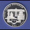 Bundesrepublik 10DM Silber-Gedenkmünze 1993 1000 Jahre Potsdam PP