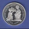 Bundesrepublik 10DM Silber-Gedenkmünze 2000 Karl der Grosse / Dom zu Aachen PP