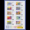 Alpen-Adria / Najubria 2017 Memmingen Kinderzeichnungen 10 Werte kpl. Bogen **